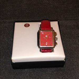 Red MICHELE Watch
